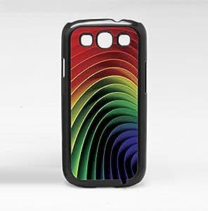 Rainbow Hard Snap on Phone Case (Galaxy s3 III)