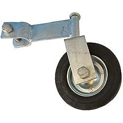 """Gate Helper Swivel Wheel, for 1-3/8"""" Chain link Fence Swing Gate"""