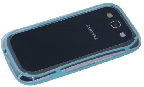 avci Base 4260310642017Bumper Coque en silicone TPU pour Samsung Galaxy S3i9300Turquoise
