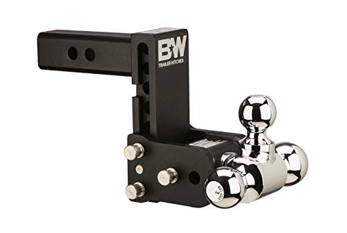 B and W TS30048B Tow and Stow Model 8 Tri-Ball Hitch 1 7/8