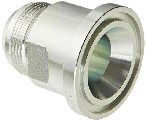 Eaton Aeroquip 500025-24-20S Split Flange Straight, JIC 37 Degree & Split Flange (Code 61) End Types, Carbon Steel, 1-1/4 JIC(m) x M26(m) End Size, 1-1/4