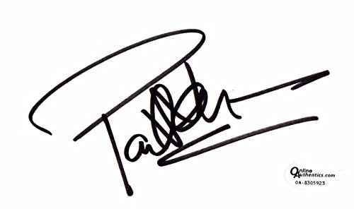 (Paul Newman Signed - Autographed 3x5 inch Index Card - Online Authentics Authenticity Sticker OA, not PSA or JSA - Deceased 2008 - Legendary Actor)