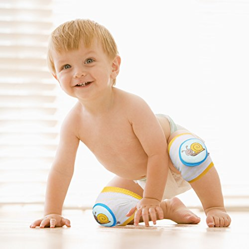 Ava & Kings Baby Knee Pads for Crawling - Babies Stuffs Gift Ideas for Infants - Protect Elbows and Legs w/Breathable Warmer Cotton and Anti-Slip Elastic - Unisex For Boys & Girls - Set of 3 by Ava & Kings (Image #7)