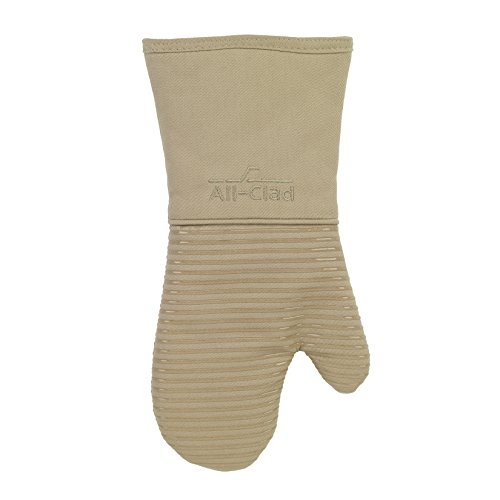 All Clad Textiles Deluxe Heat and Stain Resistant Oven Mitt.