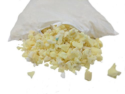 Loose Shredded Memory Foam (Refill for Pillows, Beanbag Chairs, Dog Beds, etc.) (9LB)