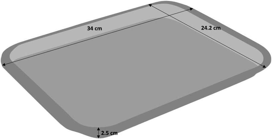 ProCook Non-Stick Baking Tray 35cm x 24.5cm x 2.5cm