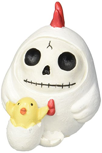 SUMMIT COLLECTION Furrybones Nugget Signature Skeleton in Chicken Costume with Hatching Chick -