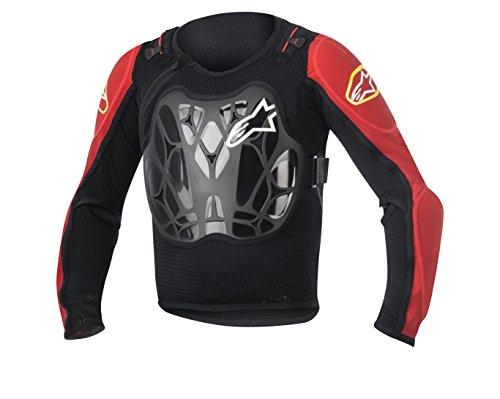 Alpinestars Youth Bionic Jacket, One Size, Black Red