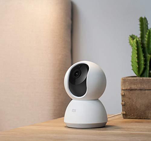 Xiaomi Mi Home MJSXJ02CM Videocamera di Sicurezza 360° 1080p, Connettività Wi-Fi, per Interno