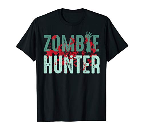 Zombie Hunter Halloween Shirt Cute Deadly Deer Hunting
