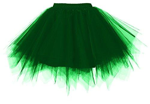 Modellante Swing Darkgreen Sottovesti Annata Gonna Sottogonna Petticoat Tutu Da Intimo E 50s Donna Crinolina Tulle Sottogonne Retro Gonne Vintage 6qH7Uq