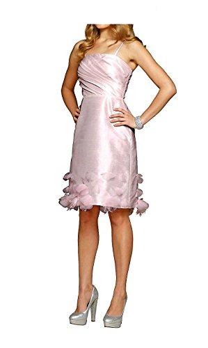 Größe Kleid 38 puder mit Damen Taftkleid Blüten APART TCq0xYw5q