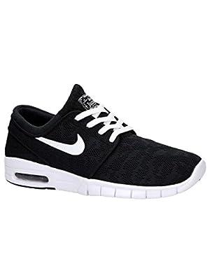 Nike Men's Stefan Janoski Max Black/WhiteSneakers - 6 D(M) US