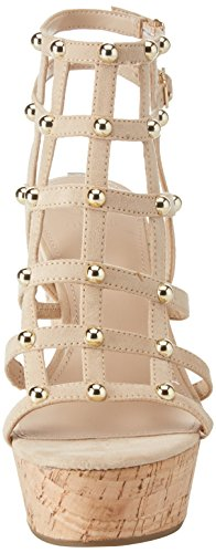 Scarpe Avorio Caviglia Footwear Sandal Donna Dress con Light Cinturino Guess alla Natural qwtCzSx