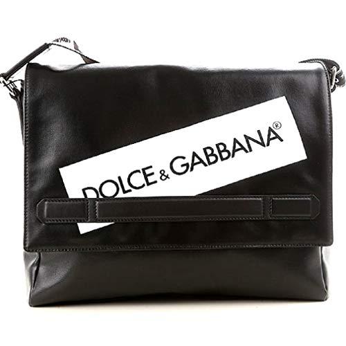 Borsa In Gabbana Lavoro Pelle Bm520a Da Cartella Nero amp; Uomo Dolce Tracolla 7ERpq