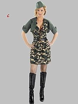 Disfraz de camuflaje para chica adulto: Amazon.es: Juguetes y juegos