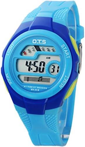 防水ガールズファッションToy Watch Boysスポーツデジタルwatch-i