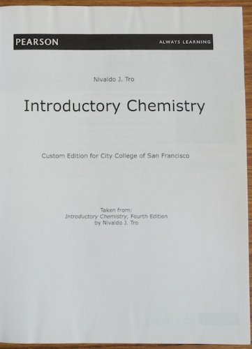 introductory chemistry custom edition for city college of san rh amazon com
