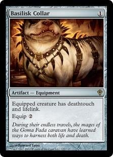 Magic: the Gathering - Basilisk Collar - Worldwake
