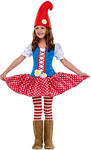 Gnome Girl Kids Costume - 24 months-2T ()