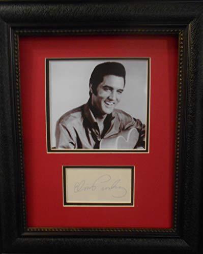 - Elvis Presley autograph