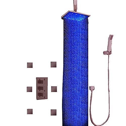 (Cascada Luxury Bathroom Shower Set with Luxury 12