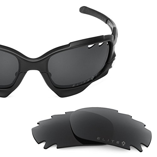 zed Replacement Lenses for Oakley Racing Jacket Elite Stealth Black ()