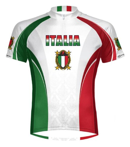 Primal Wear The Italy Italia Cycling Jersey Men's XL Short - Jersey Italia Cycling