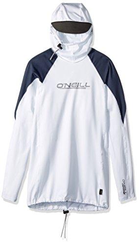 ONeill Mens Premium Skins Ozone UPF 50+ Long Sleeve Sun Shirt With Hood
