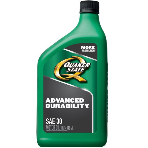 Quaker State 550035190 Heavy Duty SAE 30 Lubricant Motor Oil - 1 quart