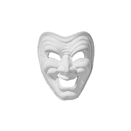 Comedy White Mask
