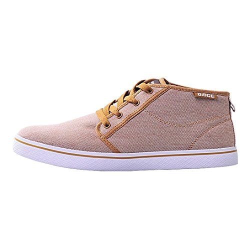 W&P Hi canvas shoes for men women and women men leisure sports lovers shoes , light brown , 41 B01LQAJKKI Shoes 222e92
