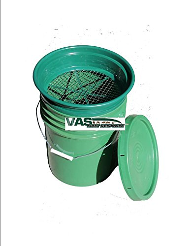 Vas 49er 3pc Gold Panning Paydirt Classifier Set 1 Paydirt