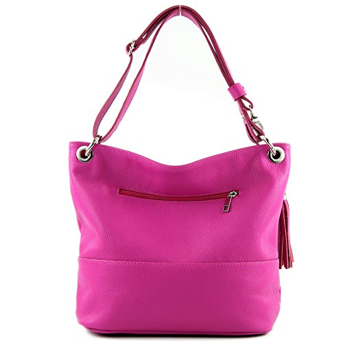 Modamoda bag Shoulder Shoulder ital Pink bag bag Leather Leather bag de T143 Rx6SRqwZ4