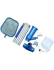 Swimming Pool Cleaning Kit Water Vacuum Suction Head Skimmer Net Maintenance Tools