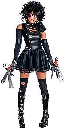 LaLaAreal Disfraz de Eduardo Manostijeras Mujer Cosplay Halloween ...