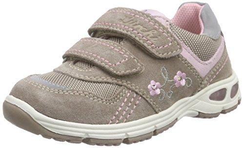 Lurchi Blingi, Mädchen Sneakers, Beige (taupe 27), 30 EU
