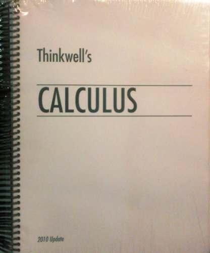 Thinkwell's Calculus 2010 Update