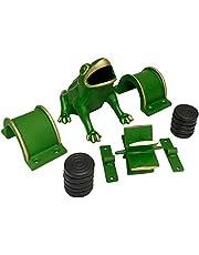 Éléments du jeu de la grenouille avec 10 jetons ou palets