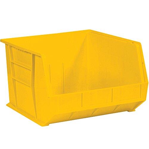 - Aviditi BINP1816Y Plastic Stack and Hang Bin Box, 18