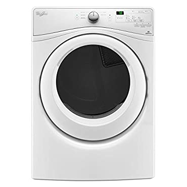 Whirlpool WGD7590FW 7.4 cu. ft. Long Vent Front Load Gas Dryer with Wrinkle Shield Plus