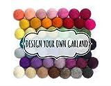 Design Your Own Felt Ball Garland- 1