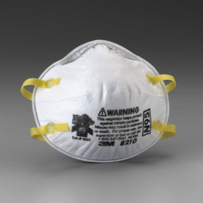 3M 8511PB1-A-PS Particulate N95 Respirator with Valve, (Niosh Approved Particulate Filter)