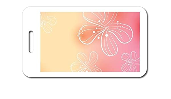 c76798ad5d97 Amazon.com: VictoryStore Luggage Tags - Design Luggage Tag - Flowers ...