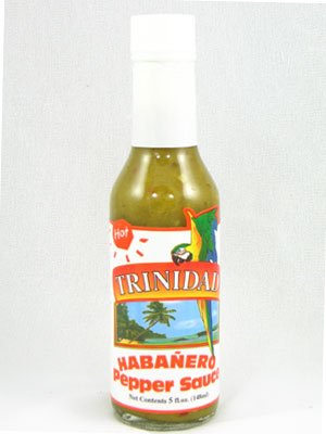 Trinidad Hot Habanero Pepper Sauce (Pack of 3)
