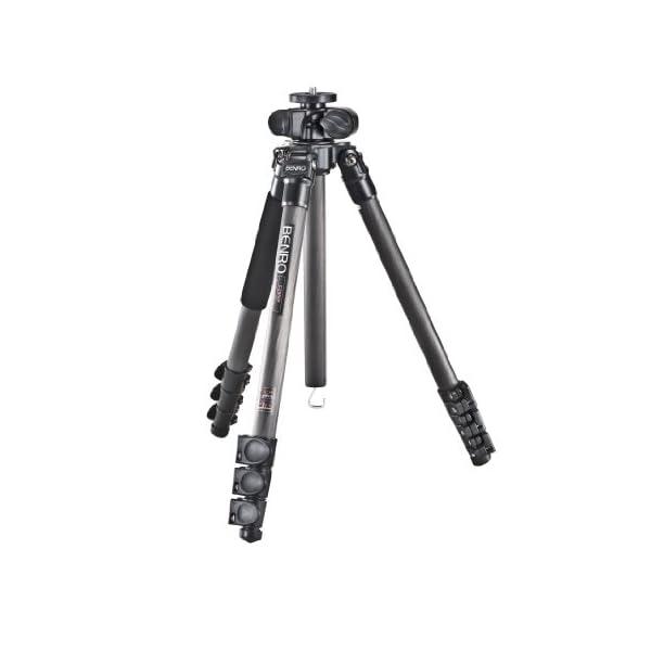 RetinaPix Benro C2980F Versatile Tripod with Carbon Fiber Flip Lock Legs