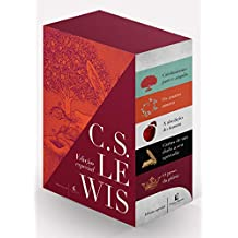 C. S. Lewis - Caixa com 5 Livros (+ 2 Pôsteres + Aparador)