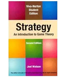 Buy game theory an introduction book online at low prices in strategy an introduction to game theory fandeluxe Choice Image