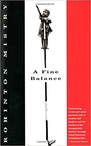 Image result for A Fine Balance by Rohinton Mistry