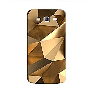 Cover It Up - Gold Angles Galaxy Grand 2 G7106 Hard Case